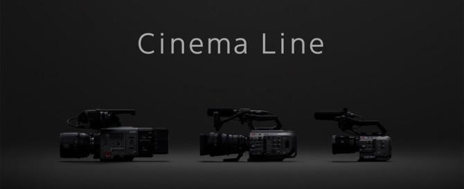映像クリエイターに向けた新商品群「Cinema Line」を展開。Xperiaからデジタルカメラ、デジタル一眼カメラ、シネマカメラへとつながるソニーの映像制作の世界。