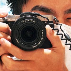 フルサイズミラーレス一眼カメラ α7C を触ってきたレビュー(その4)α7Cのコンパクトさを邪魔しない、小さくて軽いフルサイズ ズームレンズ「SEL2860」