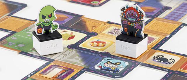 「toio™(トイオ)」に、初のボードゲーム「大魔王の美術館と怪盗団」が登場。価格は5,980円+税、11月19日に発売。