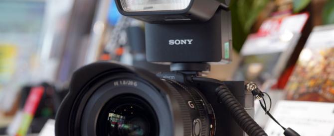 フルサイズミラーレス一眼カメラ α7C を触ってきたレビュー(その7)α7Cにピッタリなコンパクト&軽量フラッシュ「HVL-F28RM」