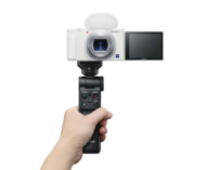 Vlog(ブイログ)撮影に特化したデジタルカメラ「VLOGCAM ZV-1」に新色ホワイトを追加!11月下旬発売。