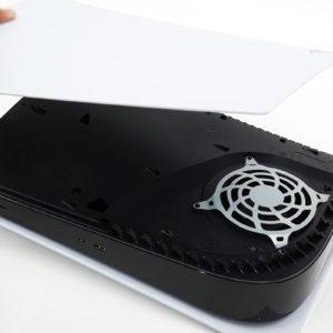 PlayStation®5の新型番(CFI-1100)の軽量化部分判明!違いはヒートシンク部分。
