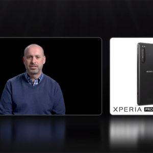 """「CES 2021」ソニーのライブ配信で、ほんのチョッピリだけ「Xperia PRO」について触れる。オチとしては""""詳細は近日公開予定お楽しみに!"""""""