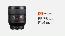 海外でフルサイズEマウントレンズ  FE 35mm F1.4 GM 「SEL35F14GM」を発表。G Masterレンズでも軽量かつコンパクト、欧州で2021年1月末、北米で2021年2月発売予定。