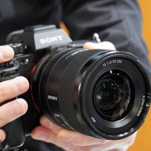 フルサイズ対応の GMaster 単焦点レンズ  FE 35mm F1.4 GM 「SEL35F14GM」をソニーストアで触ってきたレビュー。(その2)