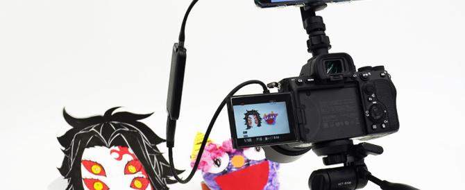 「Xperia 1II / Xperia 5 II 」のAndroid 11アップデート。UVC変換アダプタ経由のカメラ映像を、ライブ配信で利用してみる。