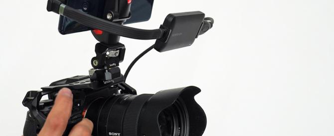 Xperiaをカメラの外部モニターにしたりライブ配信するなら、ガッチリホールドできるケージやモニターマウント、スマホクリップを用意しよう。