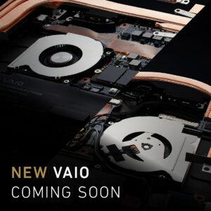 VAIO公式サイトに「NEW VAIO COMING SOON」。ついにカウントダウン、2月18日(木)13時に発表!?新しい画像には2つの空冷ファンを確認。