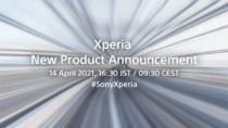 YoutubeのXperia公式チャネルで、Xperia新商品発表の予告!2021年4月14日16時30分に公開。