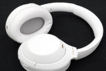 ワイヤレスノイズキャンセリングステレオヘッドセット「WH-1000XM4」の限定カラーモデル「SILENT WHITE(サイレントホワイト)」レビュー。