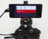 Xperiaスマートフォン SIMフリー対応モデル Xperia PRO (XQ-AQ52)に、Android 11へのアップデート。HDMI micro端子にカメラを接続して、スクリーンレコード(画面録画)を利用してみる。