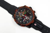 """スマートウォッチ wena3 xエヴァコラボ「wena3 – NERV Edition- complete set」。""""NERV制式 極地戦闘員/パイロット専用針指式腕時計型情報端末""""を手に入れたぞ!"""