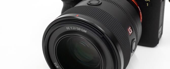 G Master 単焦点レンズ FE 50 mm F1.2 GM 「SEL50F12GM」にソフトウェアアップデート(Ver.02)。絞りリング操作で絞り値がまれに不安定になる事象を改善。