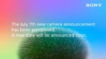 2021年7月7日23時に世界同時リリース・ライブ配信を予定していたSONYの新カメラの発表延期を発表。新しい日程は改めて告知される模様。