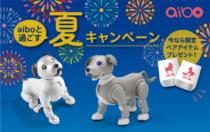 金利手数料無料や限定アイテム「aiboオリジナルタンブラー」がもらえる「aibo と過ごす夏キャンペーン」を2021年9月27日 11:00まで開催。