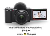 動画性能だけじゃない、レンズ交換式のミラーレスカメラとしての魅力がつまった「VLOGCAM ZV-E10」。α6400 と機能を比較。